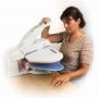 Domestic ironing press