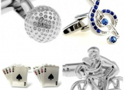 Complete your attire with novelty cufflinks from star
