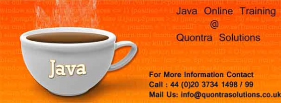 J2ee online training course at quontra solutions