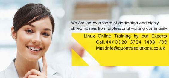 Linux online training course at quontra solutions