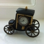 Hand Painted Stage Coach Clock