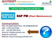 Sap pm,sap pm course,sap pm online training
