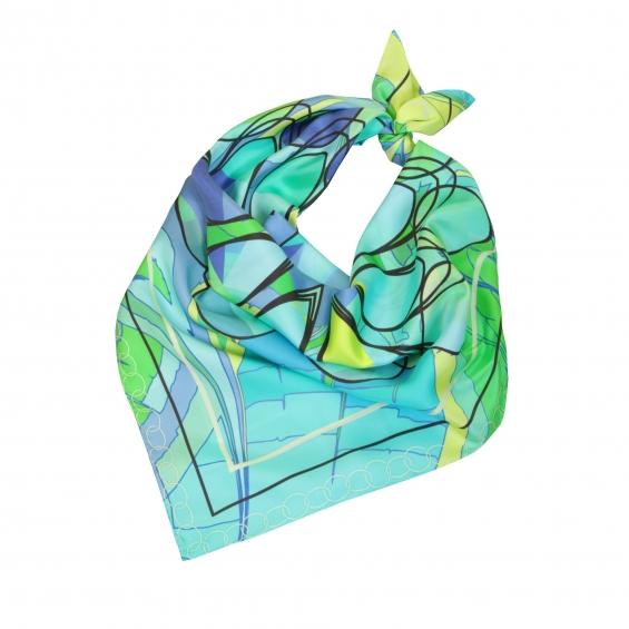 Alba silk scarf made by fabryan