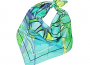 Alba silk scarf made by fabryan