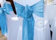 Bow, blue  (10 pcs.)