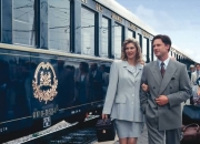 A wonderful ride with a vintage train of golden era
