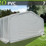 Storage shelter PRO 7x7x3.8 m PVC
