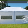 Pop up gazebo FleXtents Basic 3x6 m White, incl. 4 sidewalls