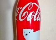 Original coca cola in aluminium bottle ~ 5 usd for twin bottles