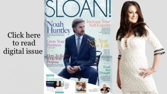 Life coach magazine with sloan! magazine