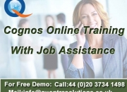 Cognos online training by 7+ years experience faculty - attend free demo