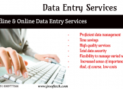 FORM FILLING DATA ENTRY PROJECTS OUTSOURSING