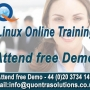 Linux Online Training  by 7+ Years Experience Faculty - Attend Free Demo