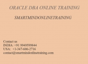 ORACLE DBA ONLINE TRAINING