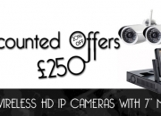 Discounted offers on cctv cameras.