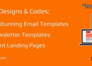 Email template designing and coding