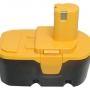 18V 2.0AH Ni-Cd Replacement Battery for Ryobi 130224028 130255004 P100 18 Volt