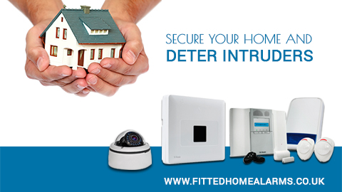 Are you secured ?   fitted home alarms uk