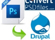 Psd to drupal conversion services