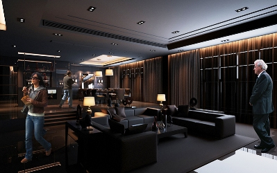 Architectural rendering project