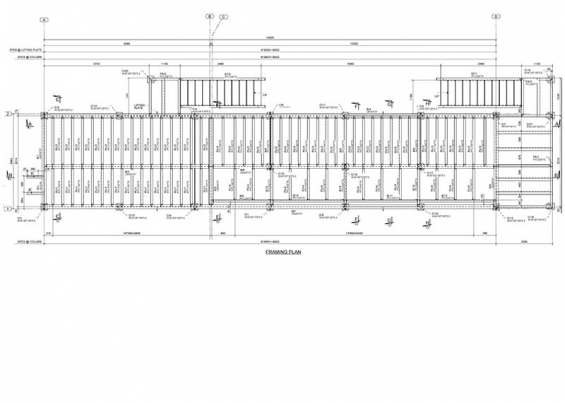 Structural steel detailing project