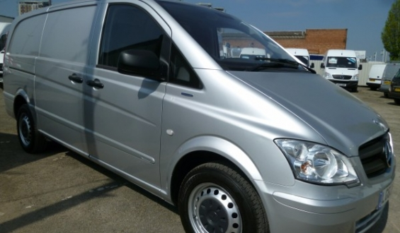 Get used mercedes commercial vans