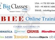 Obiee online training regular and fast track batches