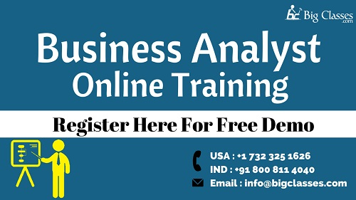 Business analyst online training regular and fast track batches
