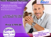 Gain the world's most reputed project management certification