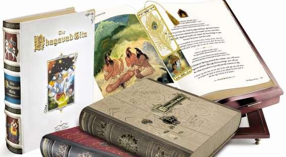 Bhagavad gita book in sanskrit, hindi, english | bhagwat geeta - nightingale