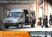 Get special discount on birmingham to luton airport minibus transportation services