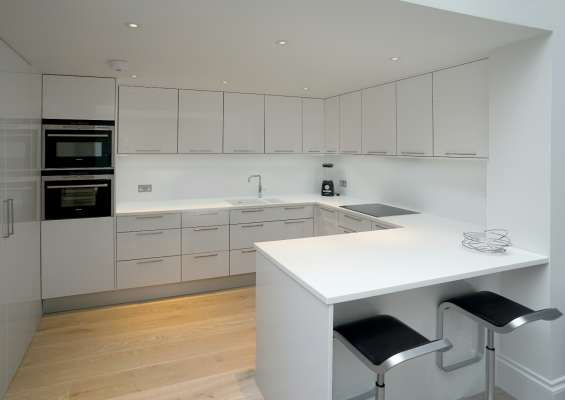 Luxury kitchen interior design st. john's wood