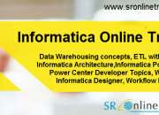 Sr Online Training provides Online Classes for Informatica Training