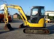 Urgent sale of KOMATSU PC 50 MR-2 mini excavator