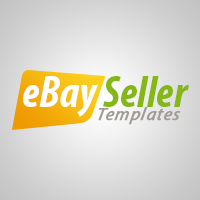 Ebay listing html template with clean and modern layout