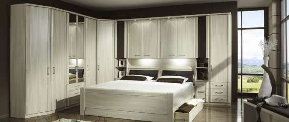 Trendy and spacious bedroom interiors and wardrobes in huddersfield