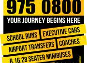 Minibus From Nottingham to Manchester Airport