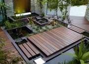Walnut engineered wood flooring in London