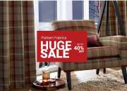 Pattern Fabric Huge Sale up to  40% OFF - Beaumontfabrics.co.uk