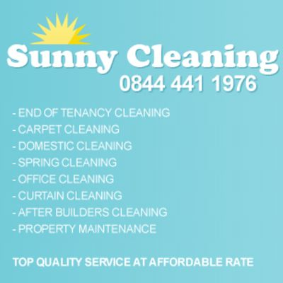 Home cleaning london - sunnyclean london