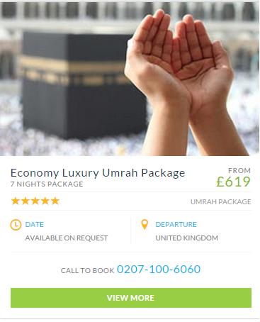 Cheap umrah packages london uk