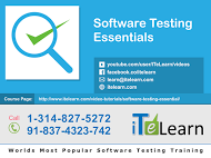 Are you looking for software testing essentials online course?