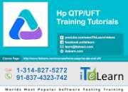 Hp qtp / uft online training at itelearn