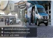 Cheap Minibus Transport in Birmingham