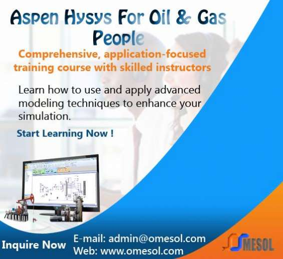 Aspen hysys for oil & gas people