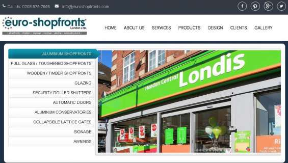 Fronts london,shutters,insulated shutters company in london