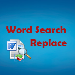 Word find and replace in doc files