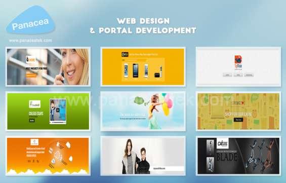 Web design & portal department