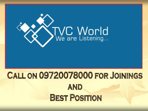 Earn online from tvc world