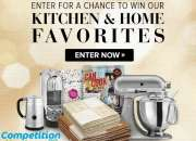 Online Competitions to Win Kitchen Gadgets!